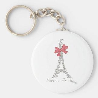Paris...Je t'aime Keychain