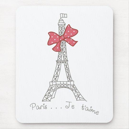 Paris...Je t'aime Mouse Pad