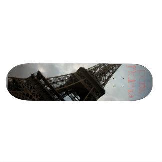 paris, j'taime custom skate board