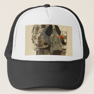 Paris July 1905 Trucker Hat