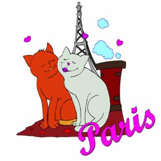 Paris Kitties Statuette