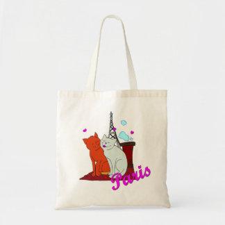 Paris Kitties Tote Bag