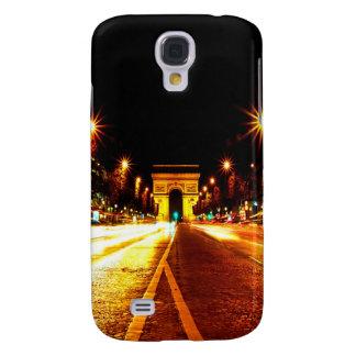 París la noche del monumento de Arco del Triunfo