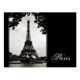 París - la postal de la torre Eiffel