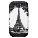 París, la torre Eiffel - caja de la galaxia S3 de  Galaxy S3 Funda
