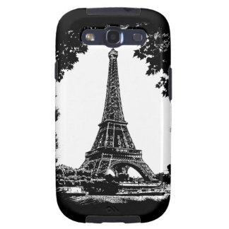 París la torre Eiffel - caja de la galaxia S3 de Galaxy S3 Funda
