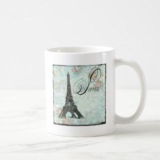 Paris La Tour Eiffel French Design Classic White Coffee Mug