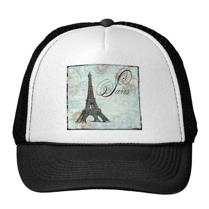 Paris La Tour Eiffel French Design Trucker Hat