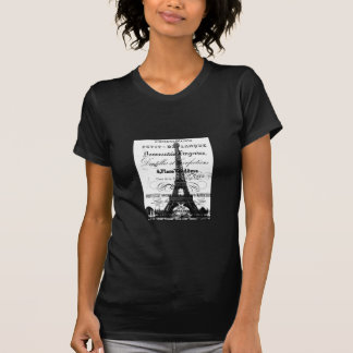 Paris Ladies T-shirt (Black)