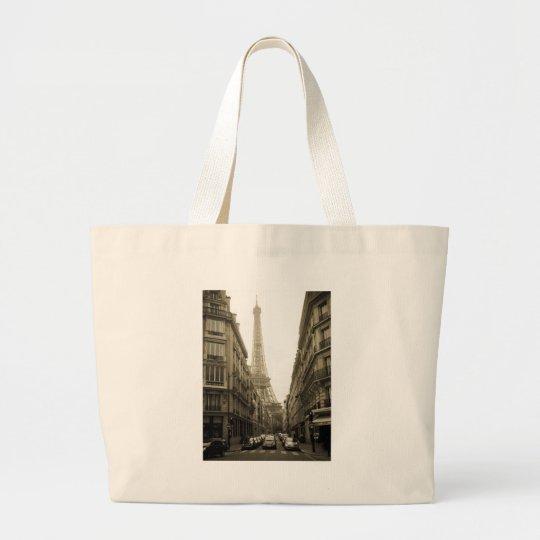 Paris Large Tote Bag