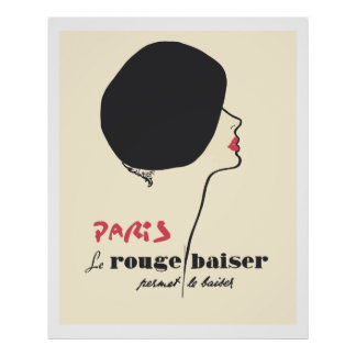 Browse our Collection of French Posters and personalize by color, design, or style.