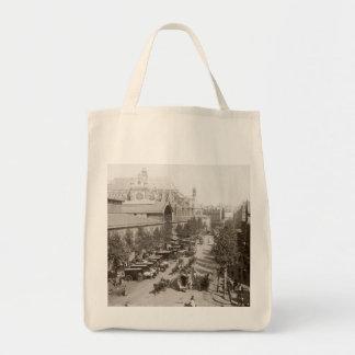 Paris: Les Halles, C1900 Tote Bag