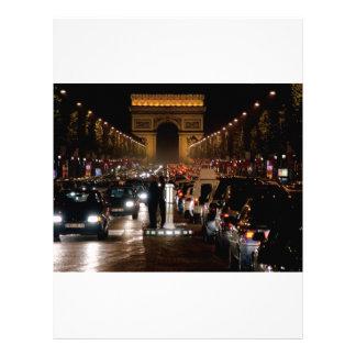 Paris Letterhead