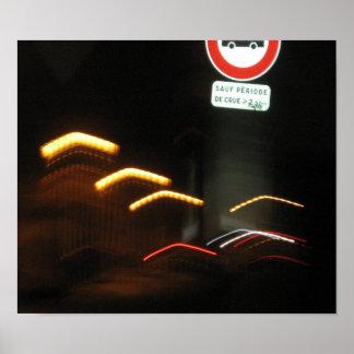 """""""Paris Life"""" (Paris, France) - Poster"""