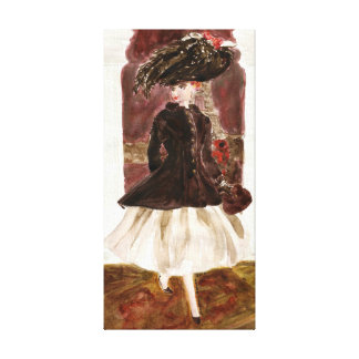 Paris Lights: Matisse Doll Fashion Stretched Canvas Prints