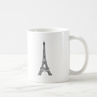 PARIS LINE COFFEE MUG