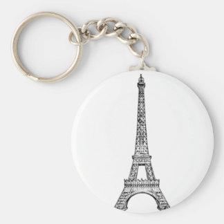 PARIS LINE KEYCHAIN