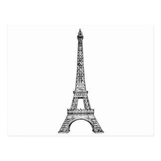 PARIS LINE POSTCARD