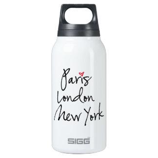 París, Londres, Nueva York