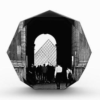 Paris louvre art et culture acrylic award