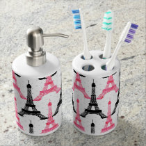 Paris Love, Eiffel Tower toothbrush holder