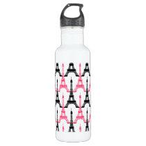 Paris Love, Eiffel Tower Water Bottle