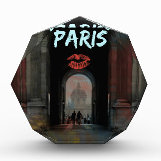 PARIS LOVE louvre Acrylic Award