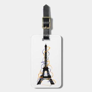 Paris Luggage Tag
