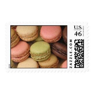 Paris Macarons Postage Stamp