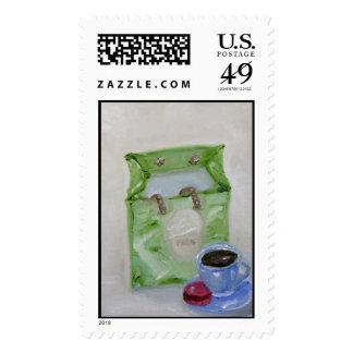 Paris Macaroon Stamps