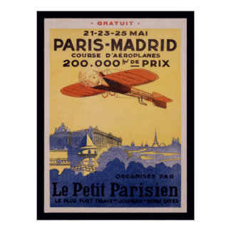 Paris-Madrid-Le-Petit Parisian Posters