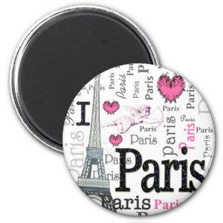 Paris Refrigerator Magnets