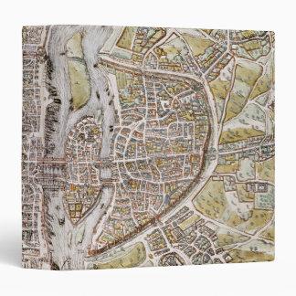 PARIS MAP, 1581 BINDER