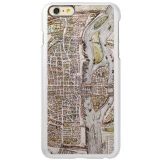 PARIS MAP, 1581 INCIPIO FEATHER SHINE iPhone 6 PLUS CASE