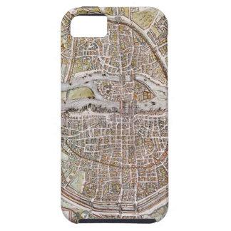 PARIS MAP, 1581 iPhone SE/5/5s CASE