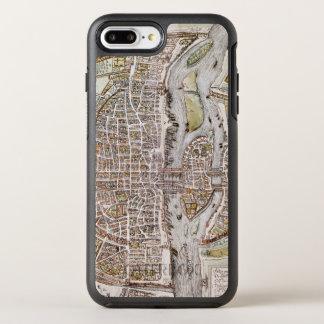 PARIS MAP, 1581 OtterBox SYMMETRY iPhone 8 PLUS/7 PLUS CASE
