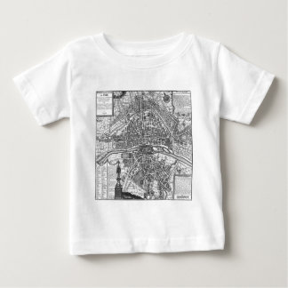Paris Map 1643 Shirt