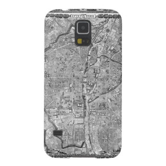 Paris Map 1652 Galaxy S5 Case