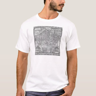Paris Map 1652 T-Shirt
