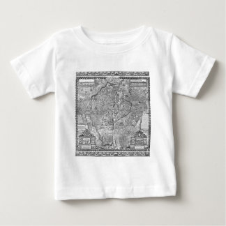 Paris Map 1652 T Shirt