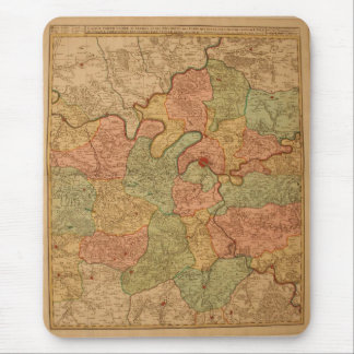 Paris Map Mouse Pad