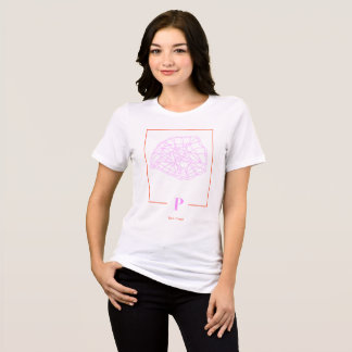 Paris Map Shirt