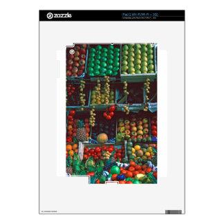 Paris Market Fruit Display TomWurl iPad 2 Decal
