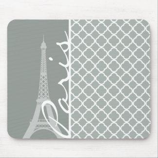 París; Marroquí Quatrefoil del gris de ceniza Tapetes De Raton
