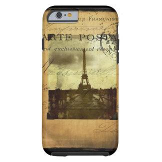 París matasellada funda de iPhone 6 tough
