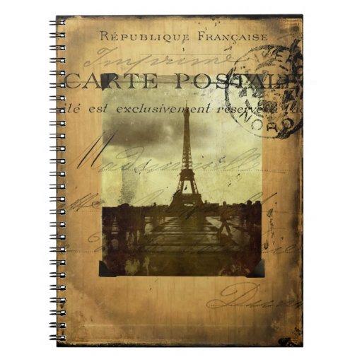 París matasellada libreta