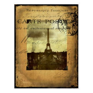 París matasellada postal