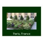Paris Maze garden Post Cards