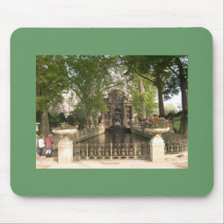 Paris - Medici Fountain, Luxembourg Gardens Mouse Pad