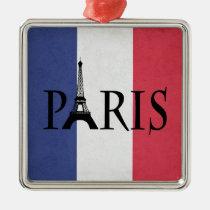 Paris Metal Ornament